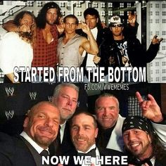 Started From The Bottom Shawn Michaels Meme
