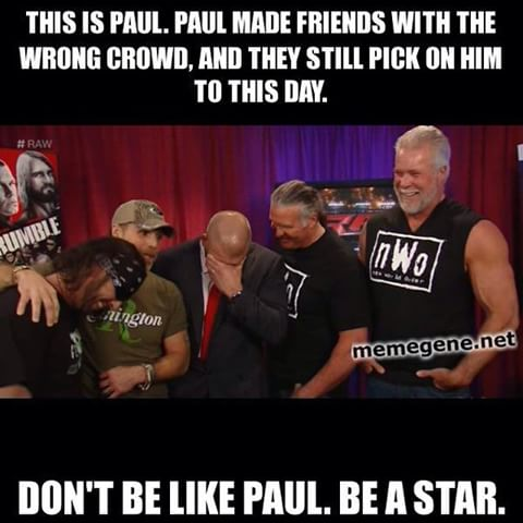 This Is Paul Made Shawn Michaels Meme