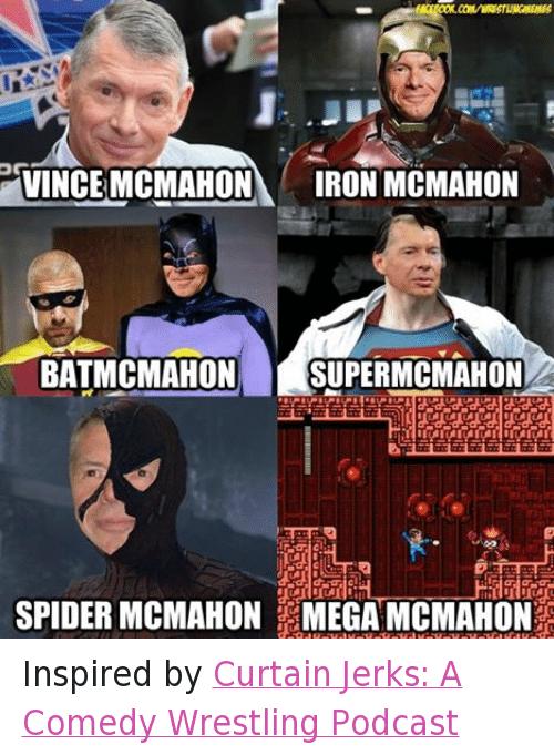 Vince McMahon Iron McMahon Vince McMahon Meme