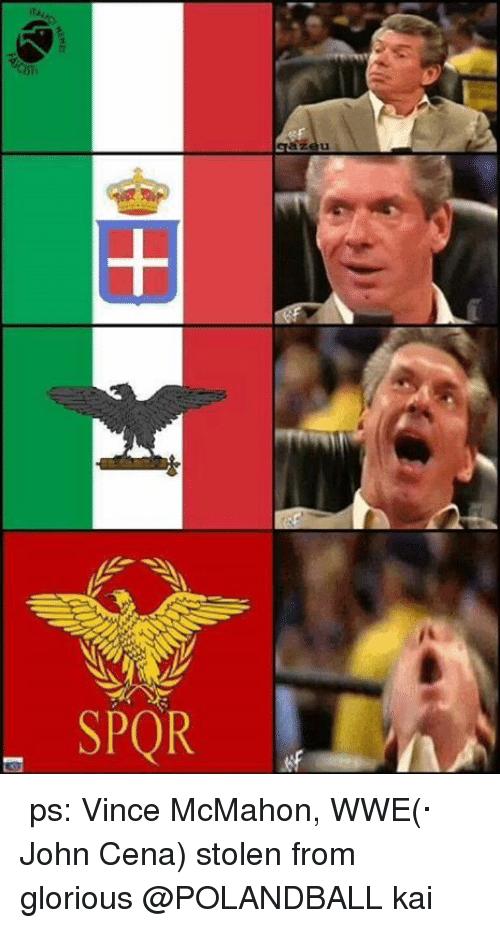 Vince McMahon Wwe John Vince McMahon Meme
