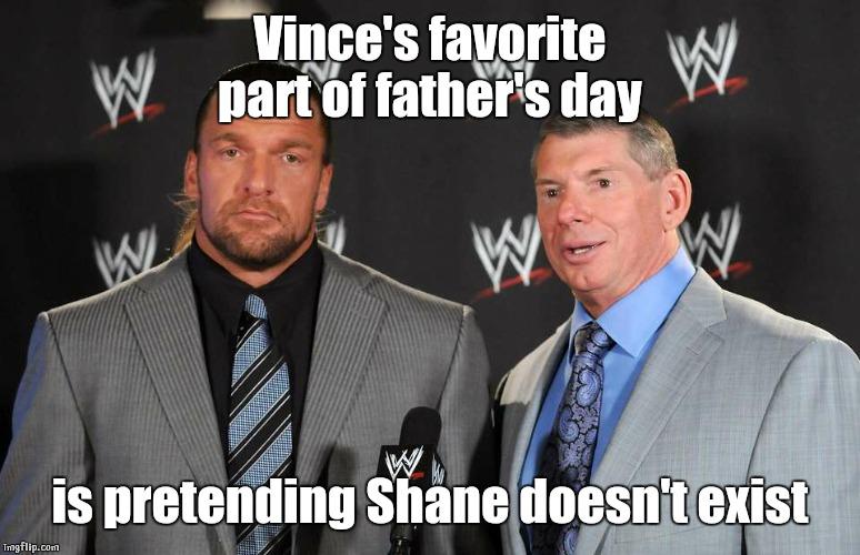 Vince's Favourite Part Of Triple H Meme