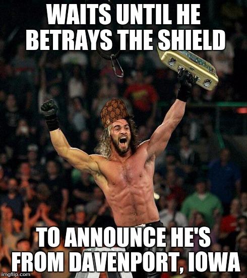Waits Until He Betrays Seth Rollins Meme