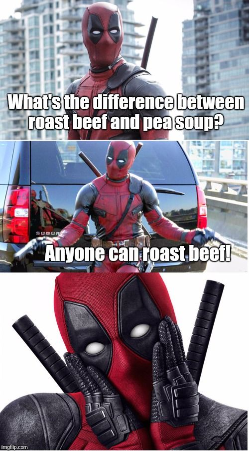 What's The Difference Between Deadpool Meme