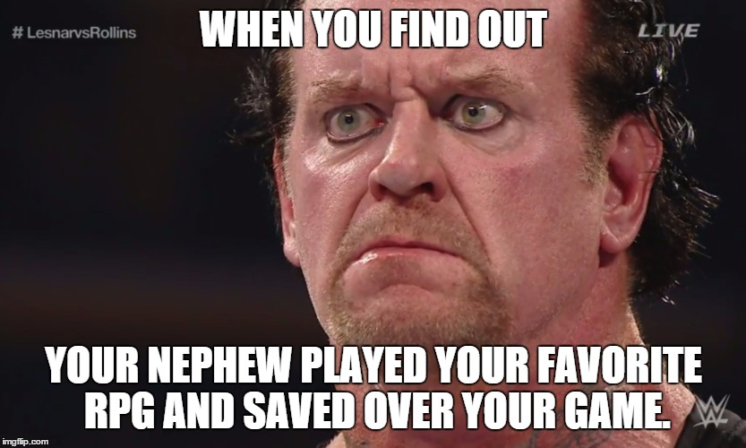 When You Find Out The Undertaker Meme