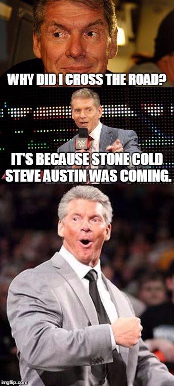 Why Did I Cross Vince McMahon Meme