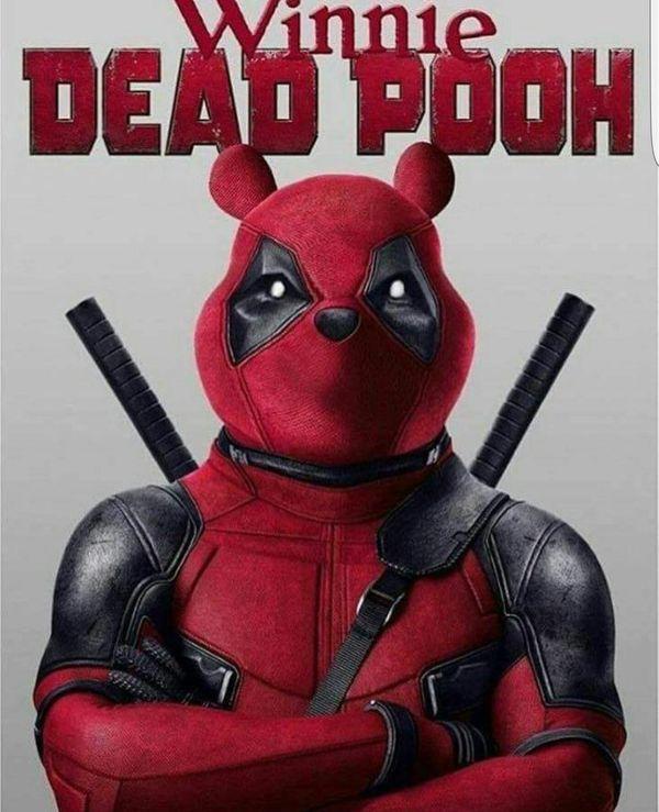 Winnie Dead Pooh Deadpool Meme
