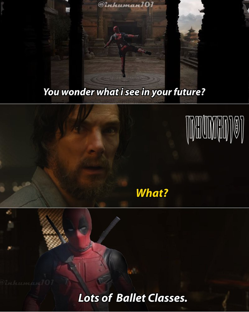 You Wonder What I Doctor Strange Meme
