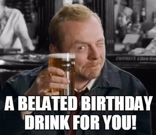 19 Funny Happy Belated Birthday Meme Pictures Collection ...