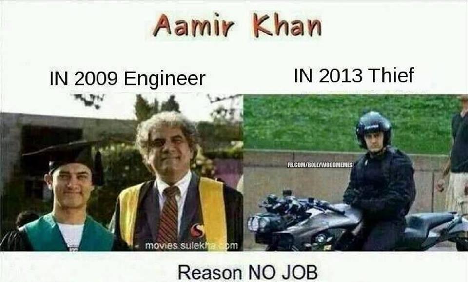 Aamir Khan In 2009 Aamir Khan Meme