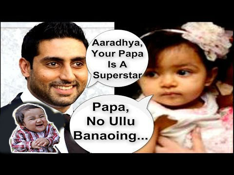 Aaradhya Your Papa Is Abhishek Bachchan Meme