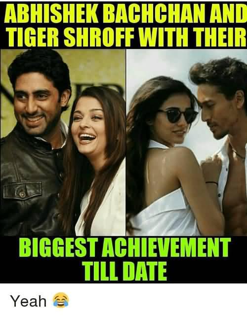 Abhishek Bachchan And Tiger Abhishek Bachchan Meme