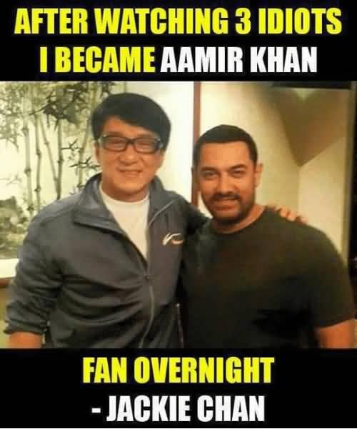 After Watching 3 Idiots Aamir Khan Meme