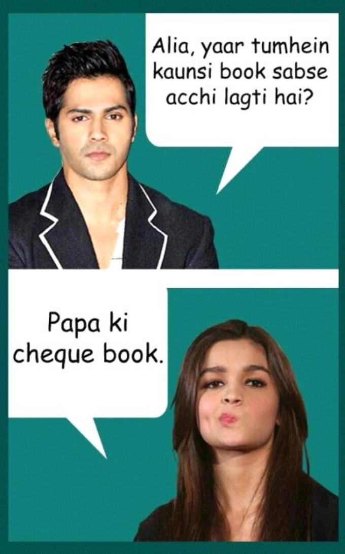 Alia Yaar Tumhein Kaunsi Alia Bhatt Meme