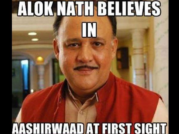 Alok Nath Believes In Alok Nath Meme