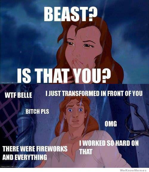 Beast Is That You Beast Meme
