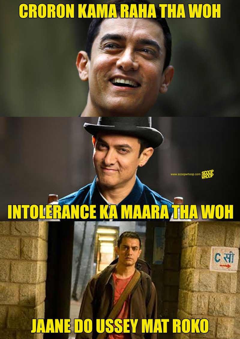 Croron Kama Raha Tha Aamir Khan Meme
