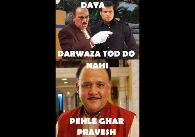 Daya Darwaza Tod Do Alok Nath Meme