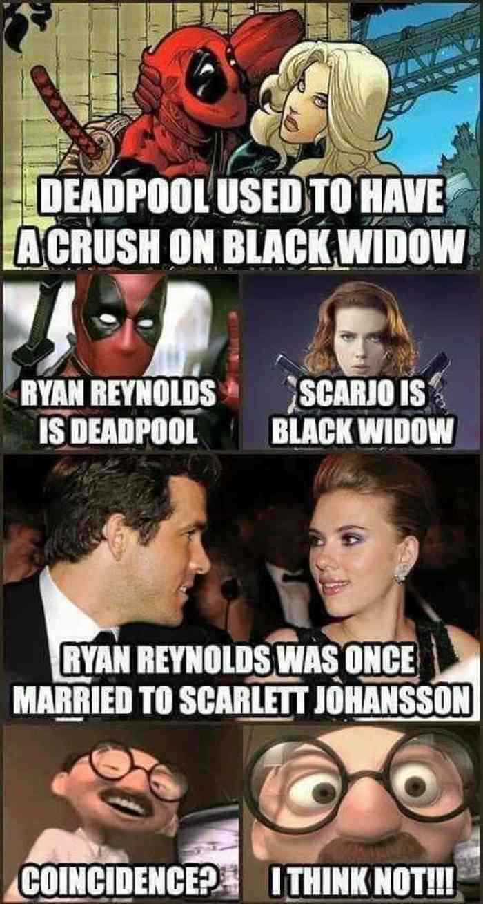 Deadpool Used To Have Black Widow Meme