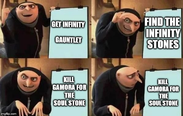 Get Infinity Gauntlet Find Gamora Meme