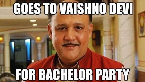 Goes To Vaishno Devi Alok Nath Meme