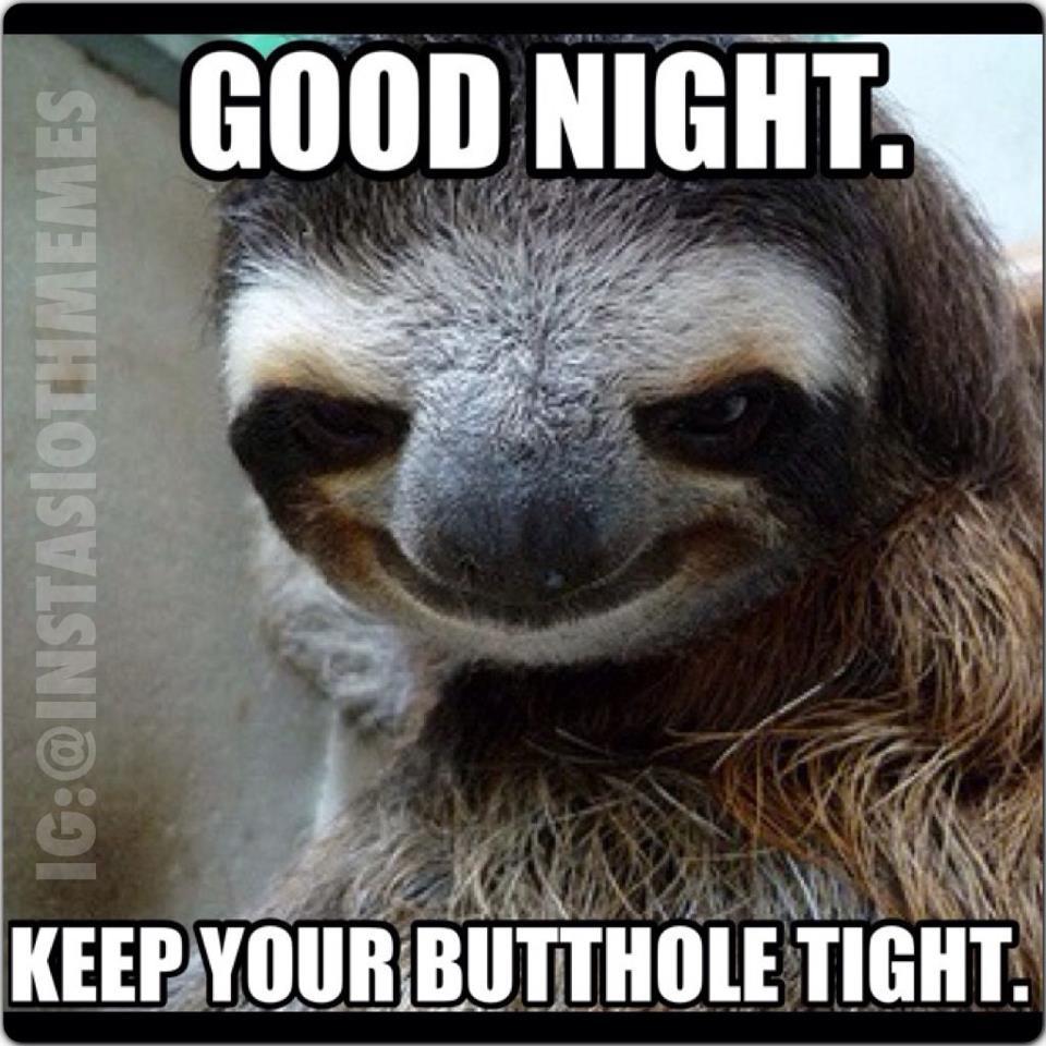 Good Night Keep Your Butthole Good Night Meme