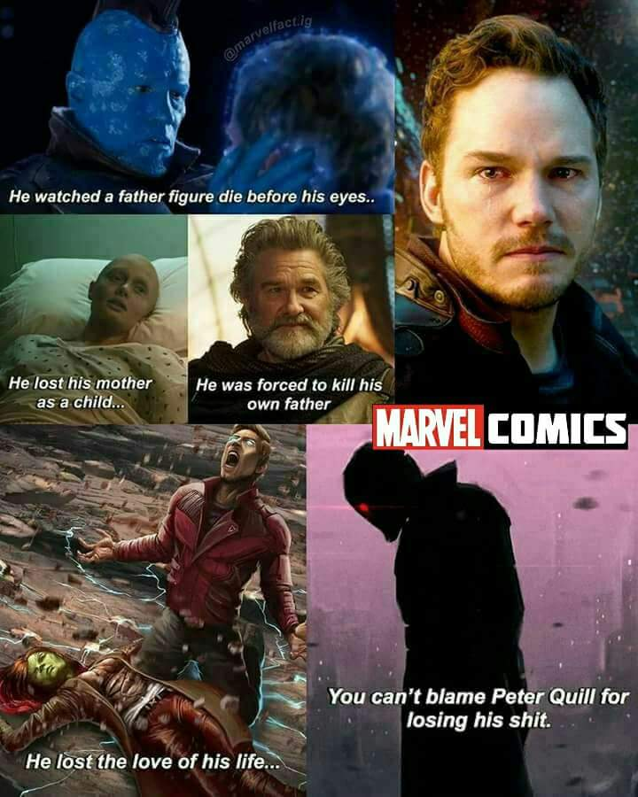 He Watched A Father Star Lord Meme