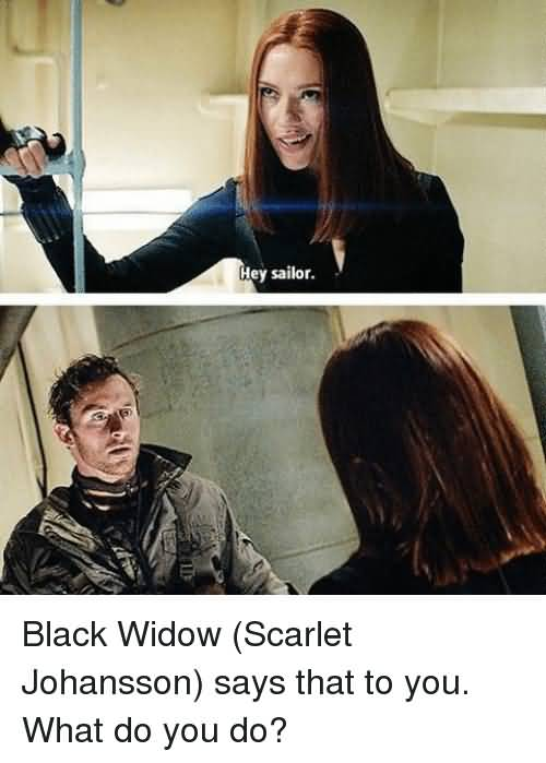 19 Funny Black Widow Meme Pictures Collection | MemesBoy