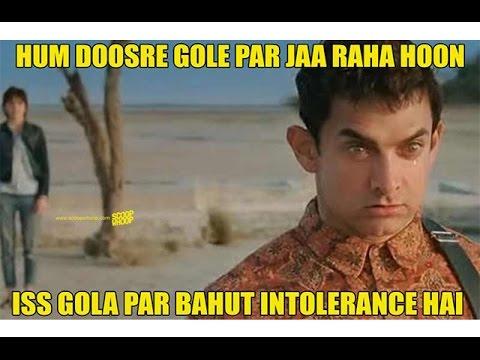 Hum Doosre Gole Par Aamir Khan Meme