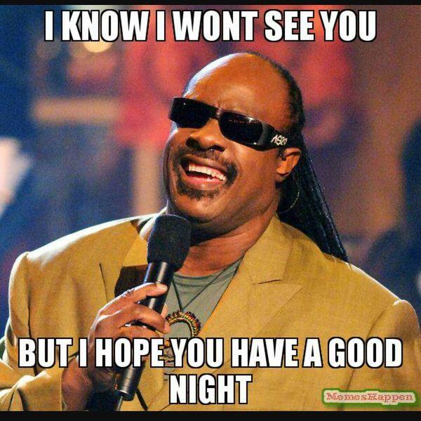 I Know I Wont See You Good Night Meme