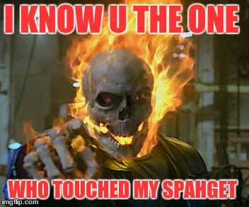 I Know U The Ghost Rider Meme
