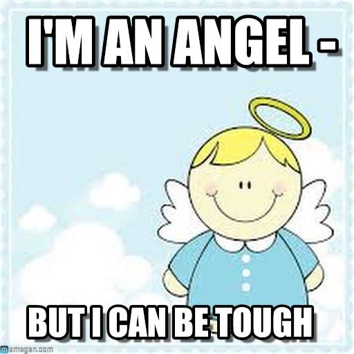 I'm An Angel But Angel Meme