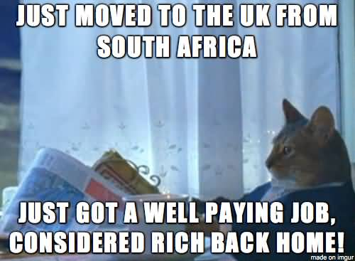 Just Moved To The UK Good Friday Meme