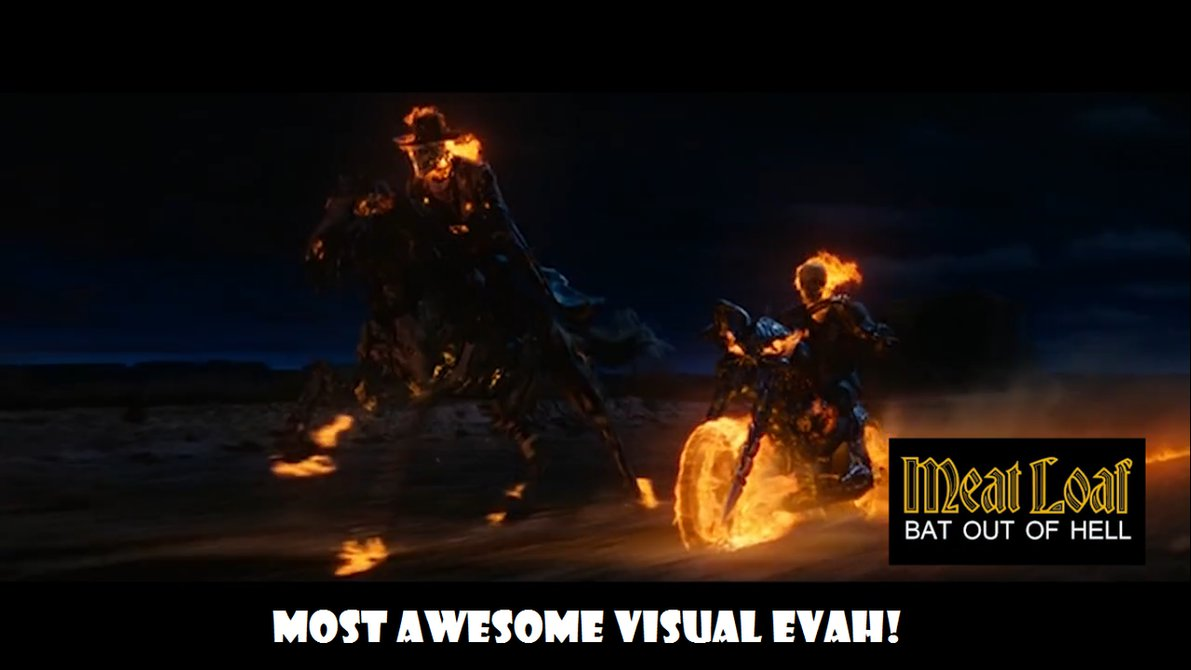 Most Awesome Visual Eveh! Ghost Rider Meme
