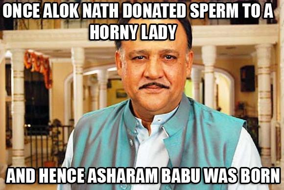 Once Alok Nath Donated Alok Nath Meme