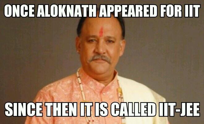 Once Aloknath Appeared For Alok Nath Meme