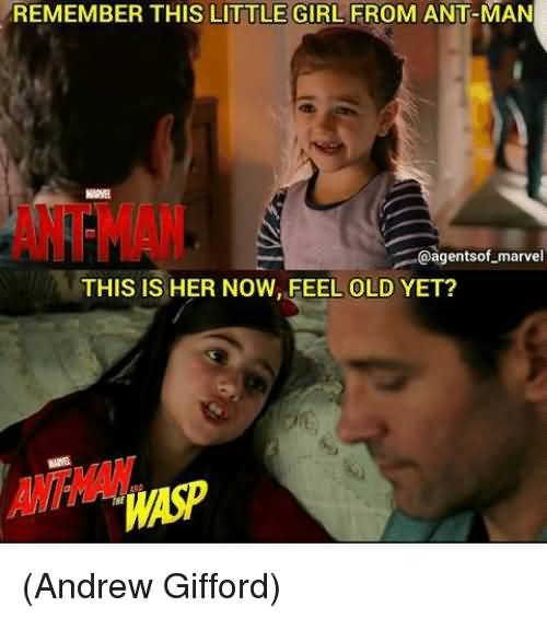 Remember This Little Girl Ant Man Meme