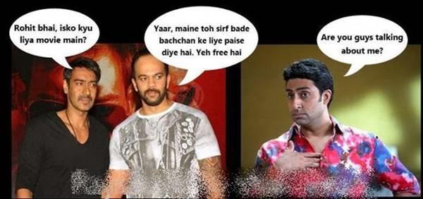 Rohit Bhai Isko Kyu Abhishek Bachchan Meme