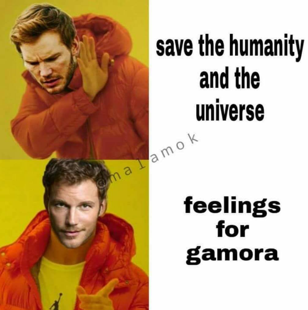 Save The Humanity And Star Lord Meme