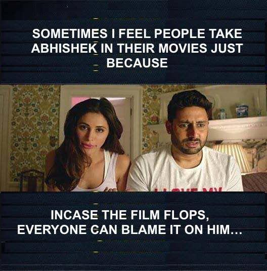 Sometimes I Feel People Abhishek Bachchan Meme