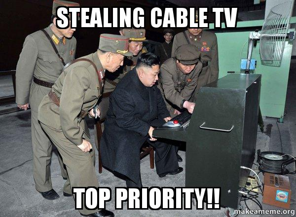 Stealing Cable TV Top Cable Meme