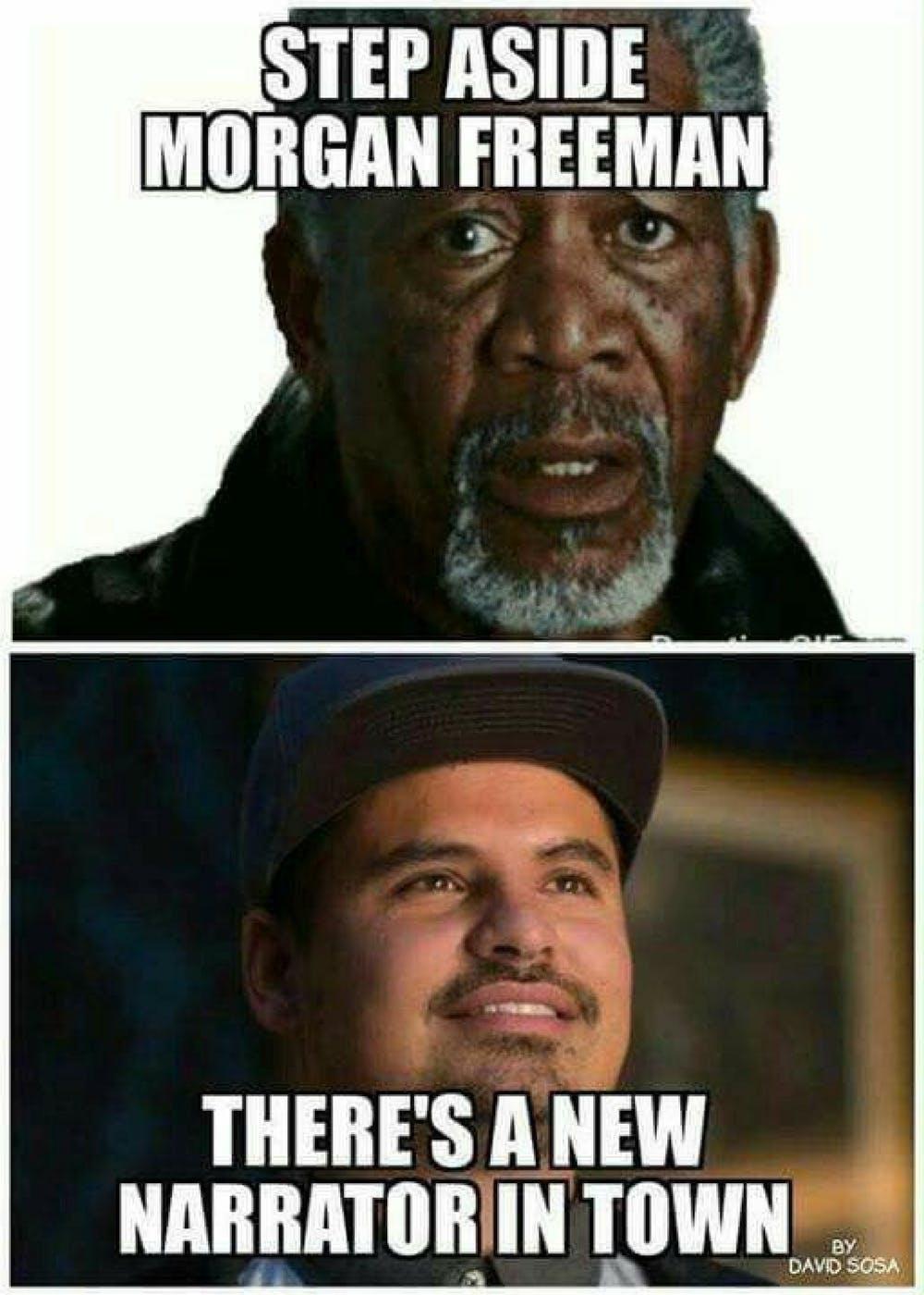 Step Aside Morgan Freeman Ant Man Meme