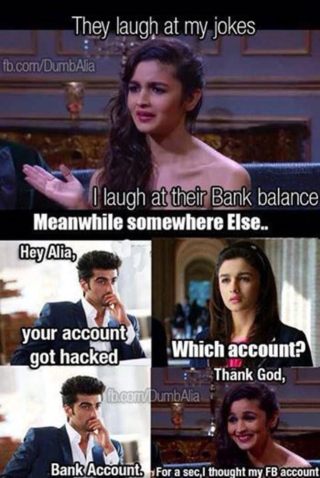 They Laugh At My Alia Bhatt Meme
