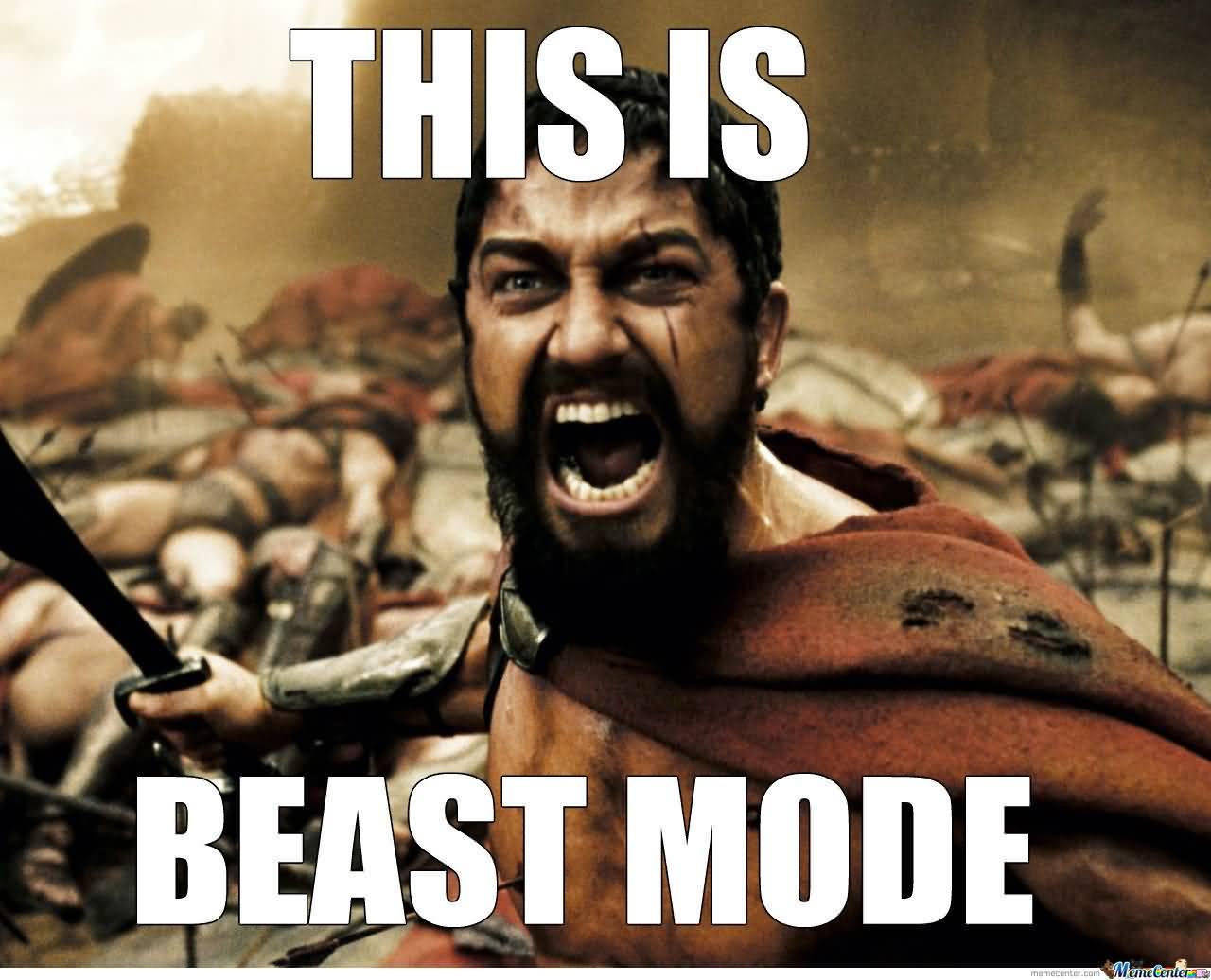 This Is Beast Mode Beast Meme