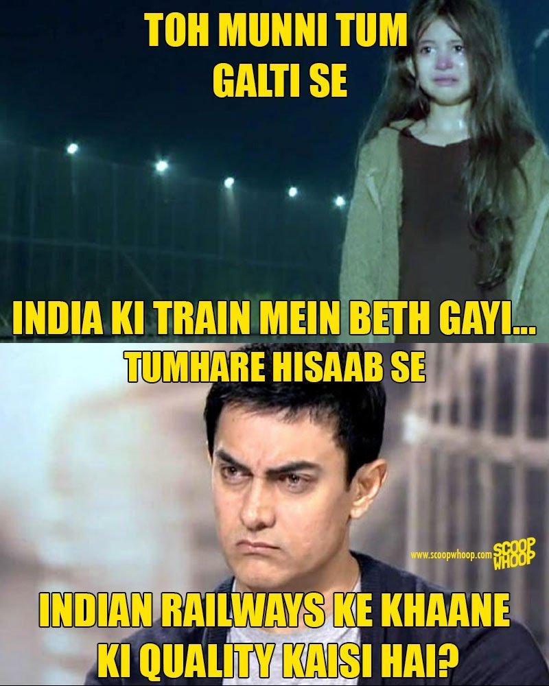 Toh Munni Tum Galti Aamir Khan Meme