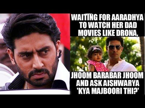Waiting For Aaradhya To Watch Her Abhishek Bachchan Meme