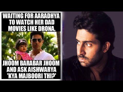 Waiting For Aaradhya To Watch Her Dad Abhishek Bachchan Meme