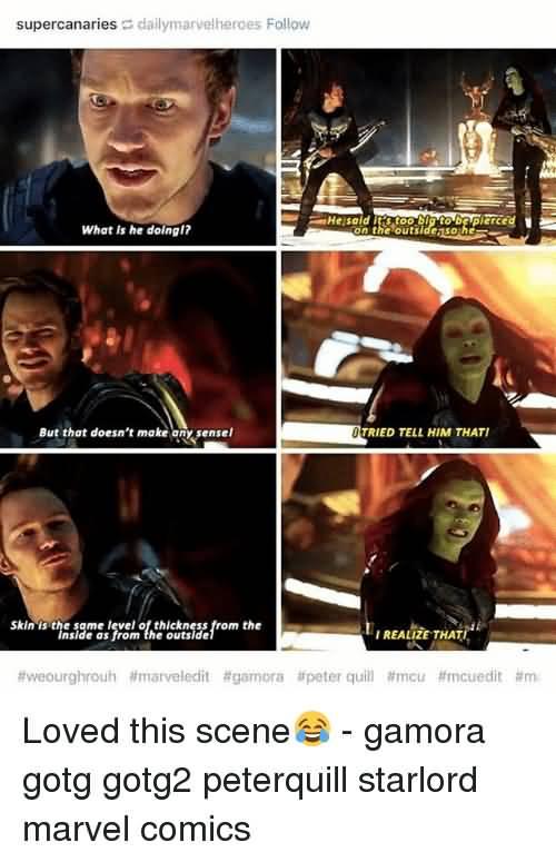 What Is He Doing Gamora Meme