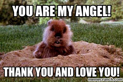 You Are My Angel! Angel Meme