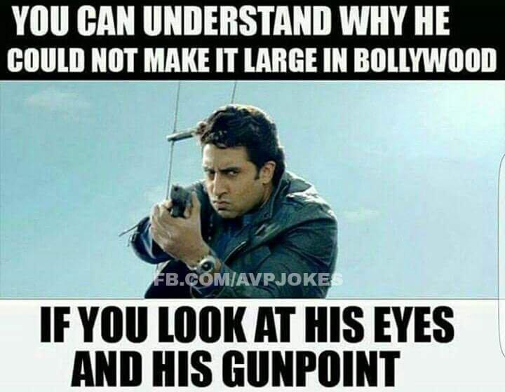 You Can UUnderstand Why Abhishek Bachchan Meme