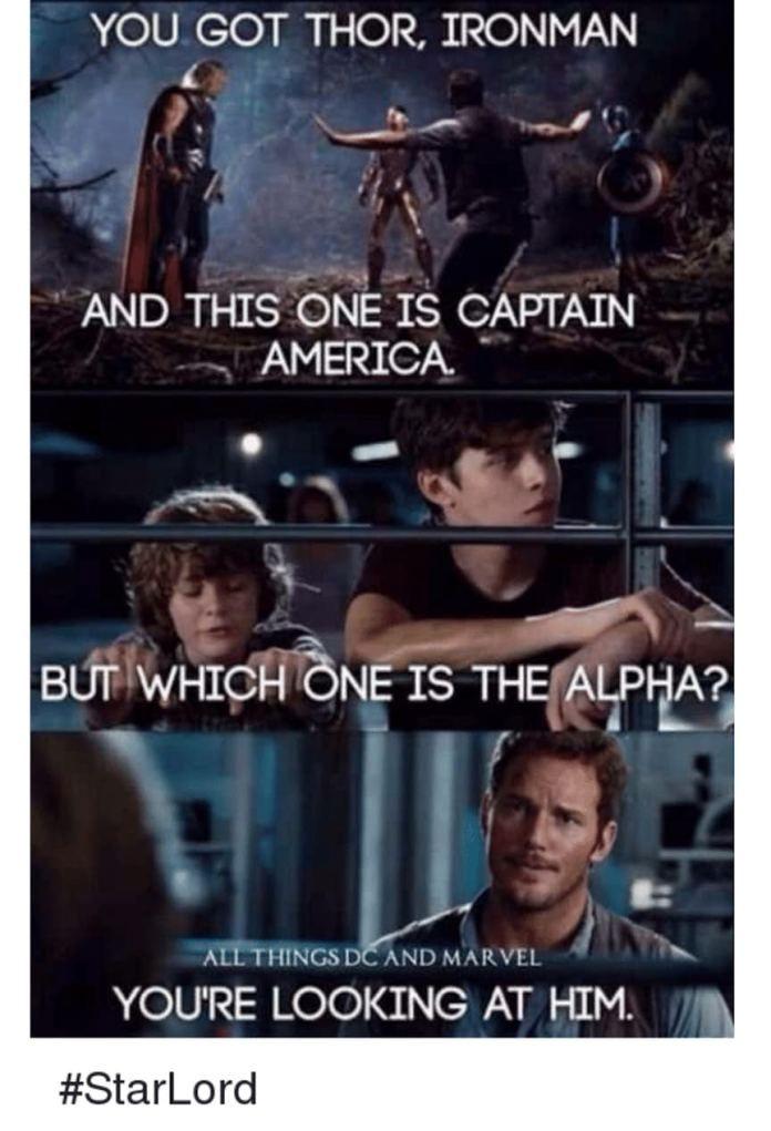 You Got Thor Ironman Star Lord Meme